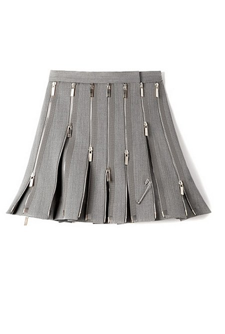 Thom Browne Wool Zipped Skirt  ($3,820)