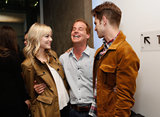 Emma Stone and Andrew Garfield shared a laugh with Adam James.