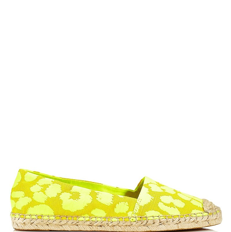 We can't help but think happy thoughts when looking at this Juicy Couture Gigi espadrille ($198).