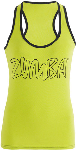 Zumba Life of the Party Racerback - Zumba Green