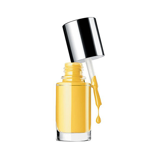 Clinique just launched a whole collection of nail polishes for sensitive skin, and the one we're reaching for this month is a new yellow bottle, 70 and Sunny ($16). Sounds like the perfect forecast for May.