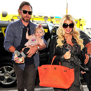 Jessica Simpson at LAX With Eric Johnson | Pictures