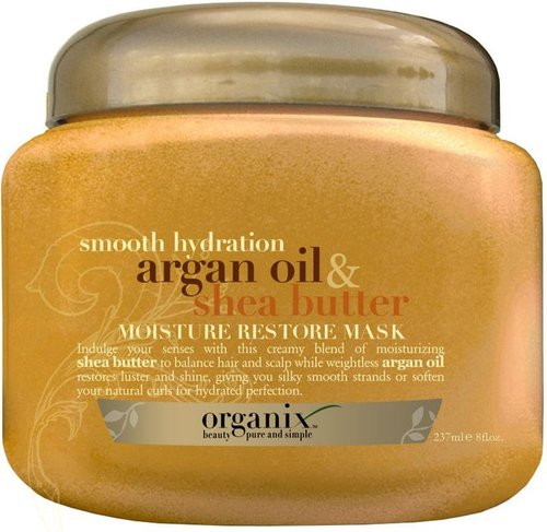 Organix Smooth Hydration Argan Oil & Shea Butter Moisture Restore Mask
