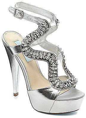 Blue by Betsey Johnson Ring Dress Sandals