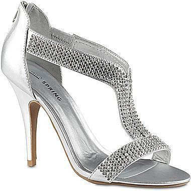 Call It SpringTM Zarcoa Rhinestone T-Strap Sandals