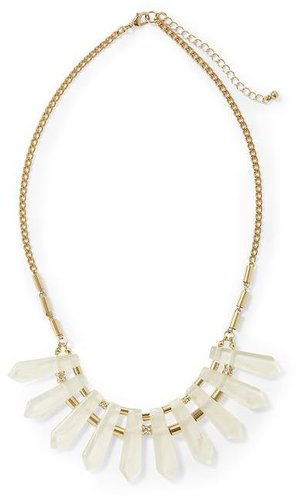 Hive & Honey Clear Spikes Necklace
