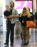 Jessica Simpson Wraps Up a Quick Family Getaway