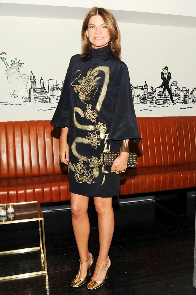 Natalie Massenet at Net-a-Porter's party at Omar's. Neil Rasmus/BFAnyc.com