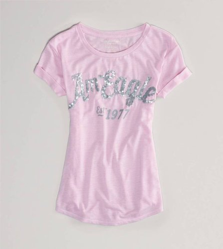 AE Signature Embellished Tee