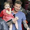 The Beckham Family in Paris