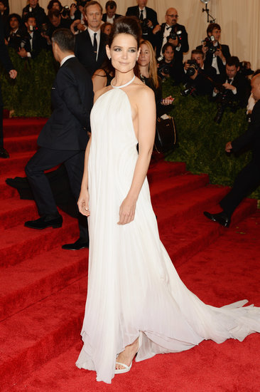 Katie Holmes Goes Backless at the Met Gala