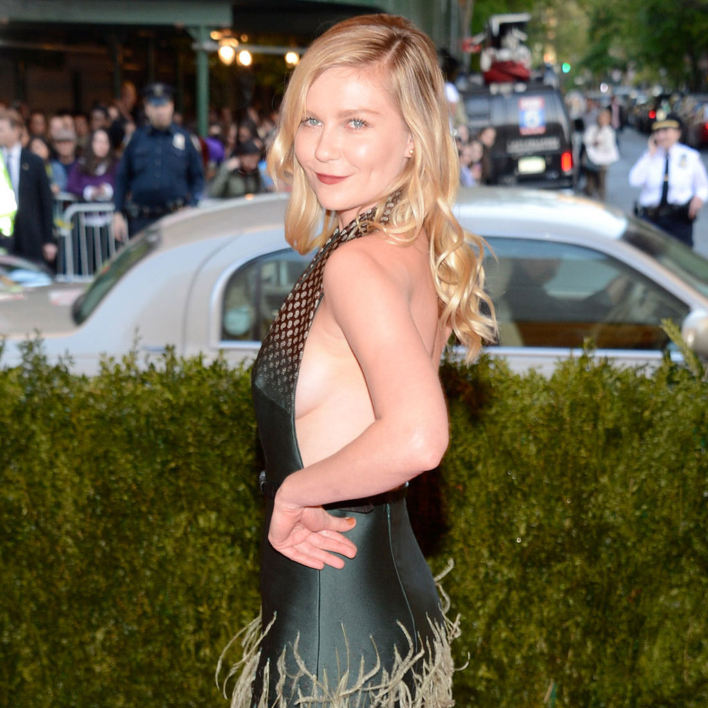 Kirsten Dunst on Met Gala 2013 Red Carpet