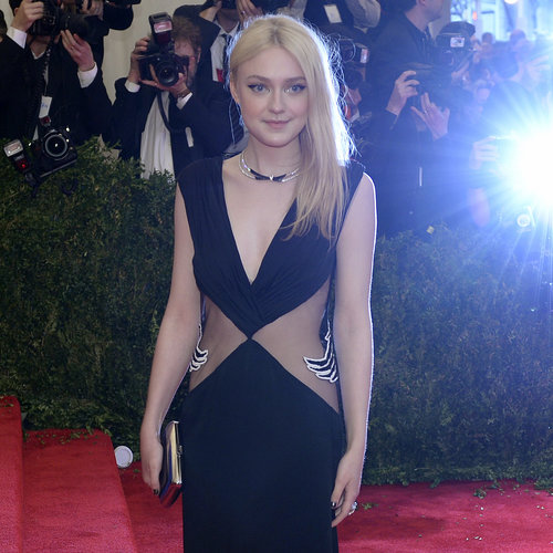 Dakota and Elle Fanning at the Met Gala 2013