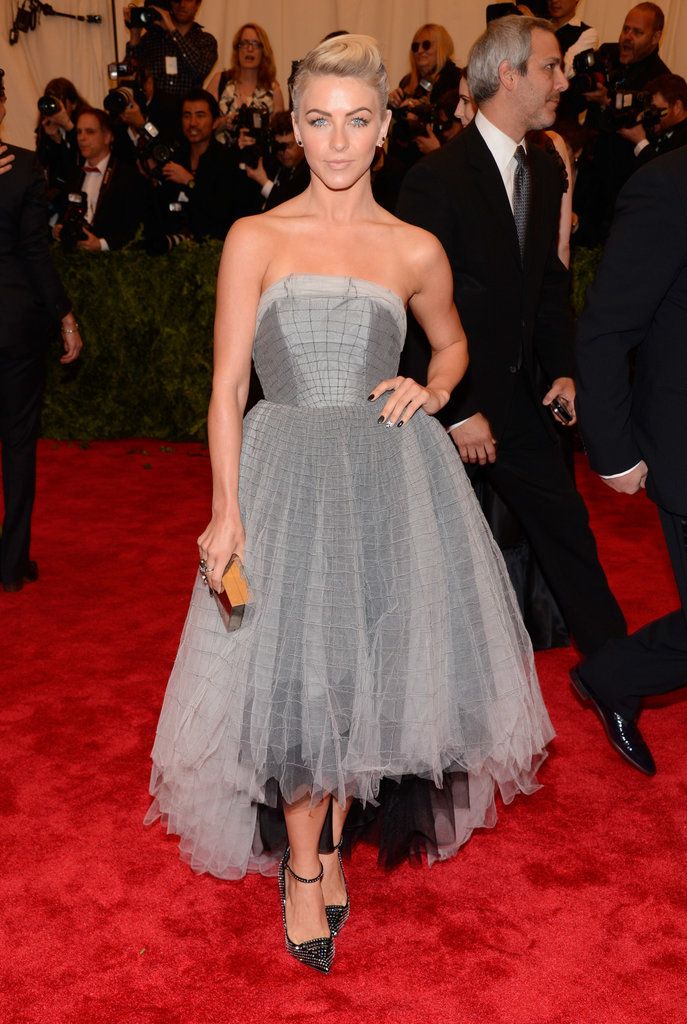 Julianne Hough at the Met Gala 2013.