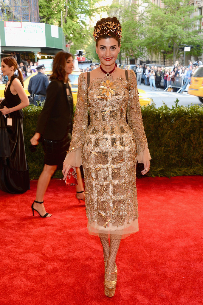 Giovanna Battaglia at the 2013 Met Gala.