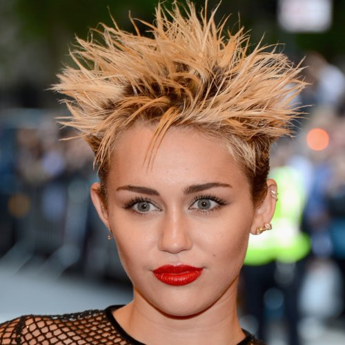 Pictures of Miley Cyrus at the 2013 Met Gala