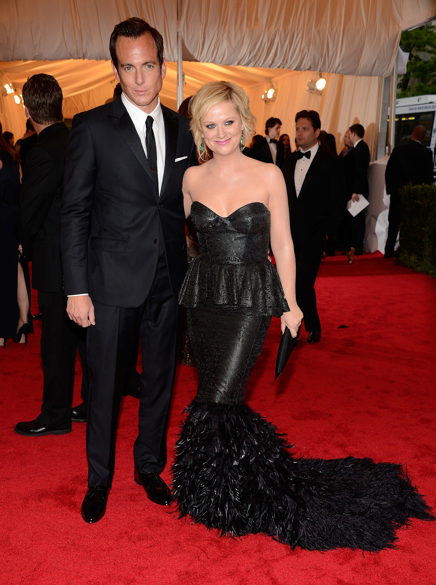 Will Arnett and Amy Poehler in 2012Amy Poehler Will Arnett