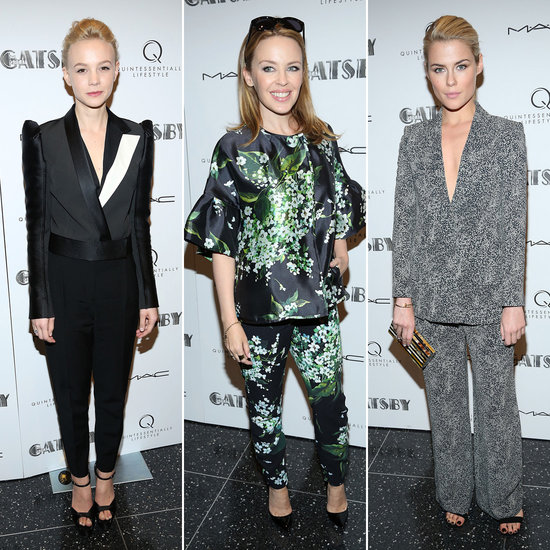 Kylie and Rachael Join Carey For a Great Gatsby NYC Screening