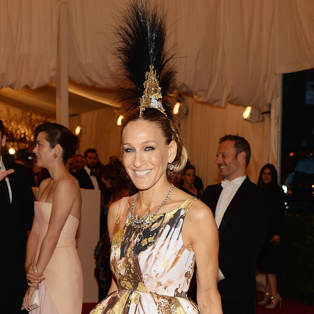 Sarah Jessica Parker on Met Gala 2013 Red Carpet