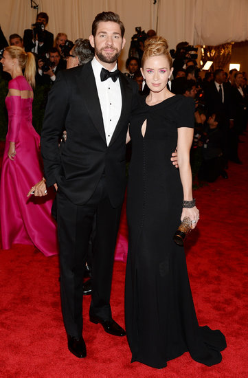 Emily Blunt and John Krasinski Couple Up at the Met Gala