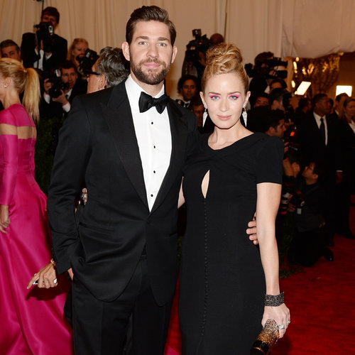 Emily Blunt and John Krasinski at the Met Gala 2013