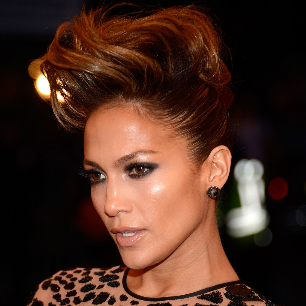 Jennifer Lopez Hair at Met Gala 2013 | Red Carpet