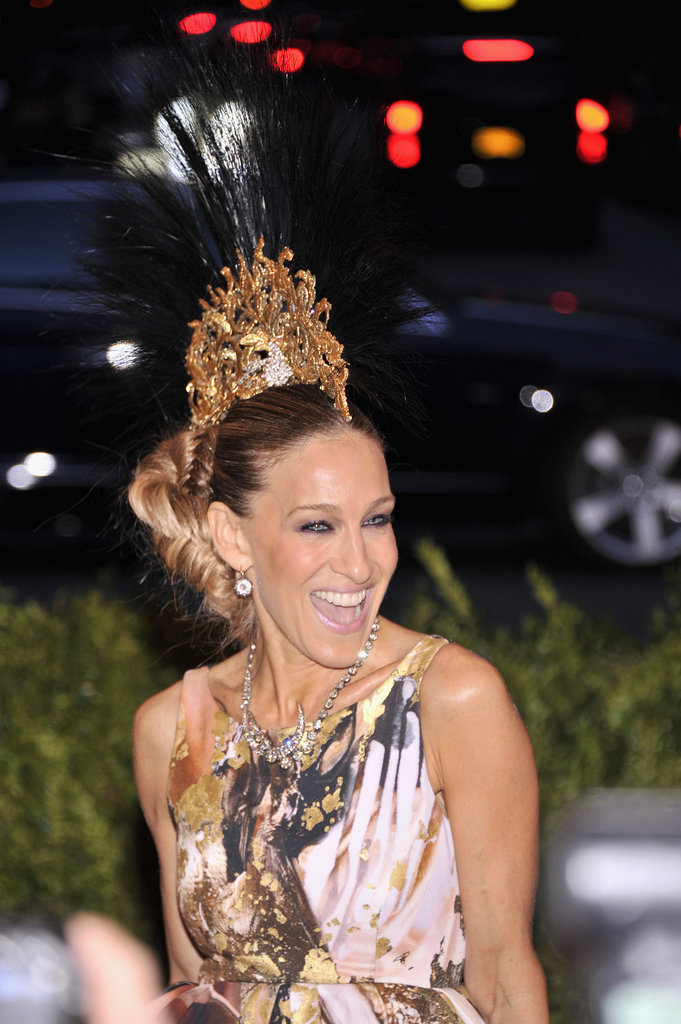 Sarah Jessica Parker at the Met Gala 2013.
