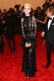 Anne Hathaway at the Met Gala 2013.