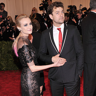 Diane Kruger and Joshua Jackson at the Met Gala 2013