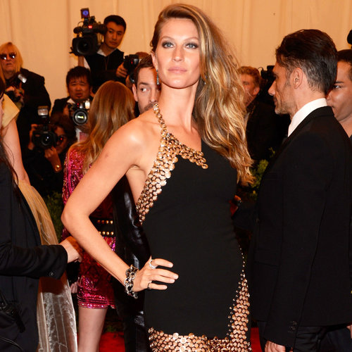 Pics of Gisele Bundchen in Anthony Vaccarello, 2013 Met Gala