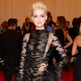 Anne Hathaway on Met Gala 2013 Red Carpet