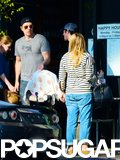 Kristen Bell and Dax Shepard brought Lincoln out in LA.