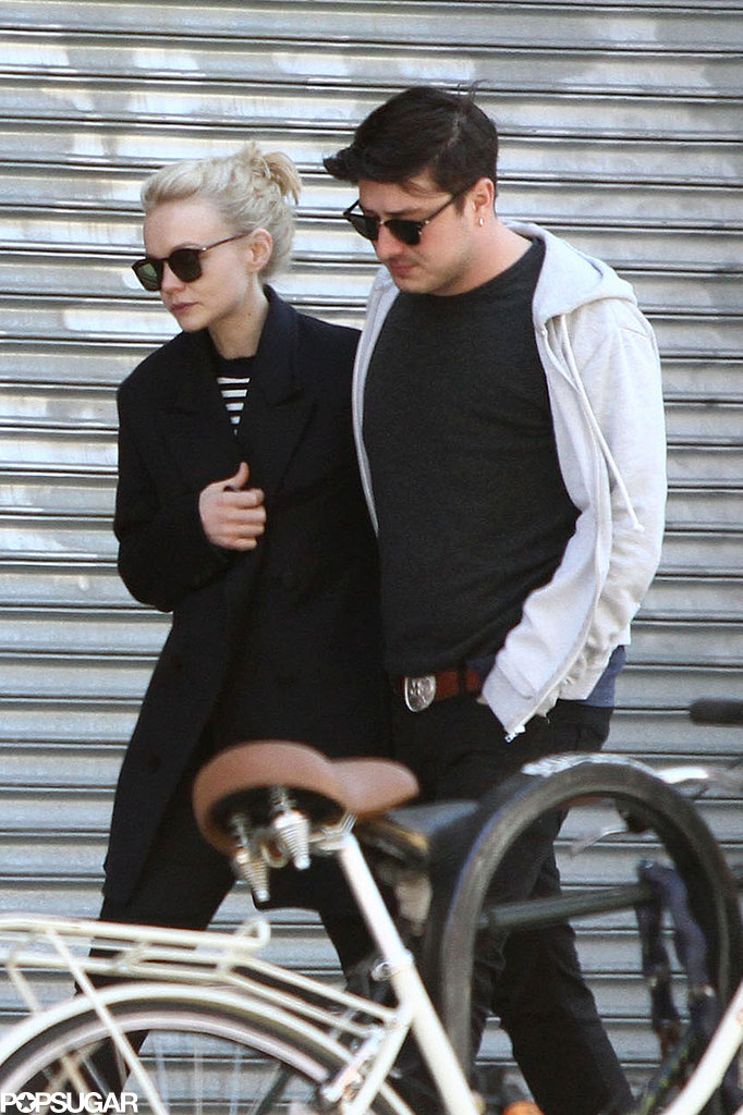 Carey Mulligan and Marcus Mumford had lunch at Prune.