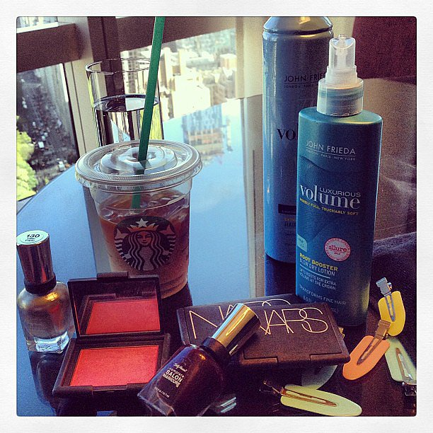 The Rodarte designers shared their Met Ball prep along with Nars and John Frieda. Source: Instagram user officialrodarte