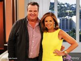 Eric Stonestreet visited Katie Couric on the set of her talk show. Source: Katie Couric on WhoSay