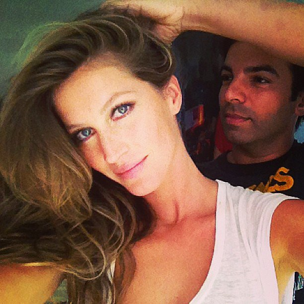 Gisele Bündchen showed off her voluminous hair for the 2013 Met Gala. Source: Instagram user giseleofficial