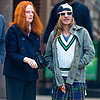 Grace Coddington and John Galliano in NYC | Pictures