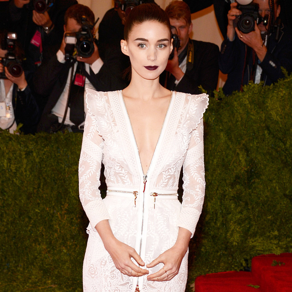 Rooney Mara on Met Gala 2013 Red Carpet