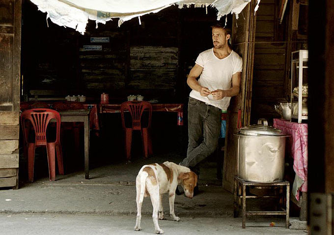 Ryan Gosling and a dog: is there anything sexier? Source: Bold Films
