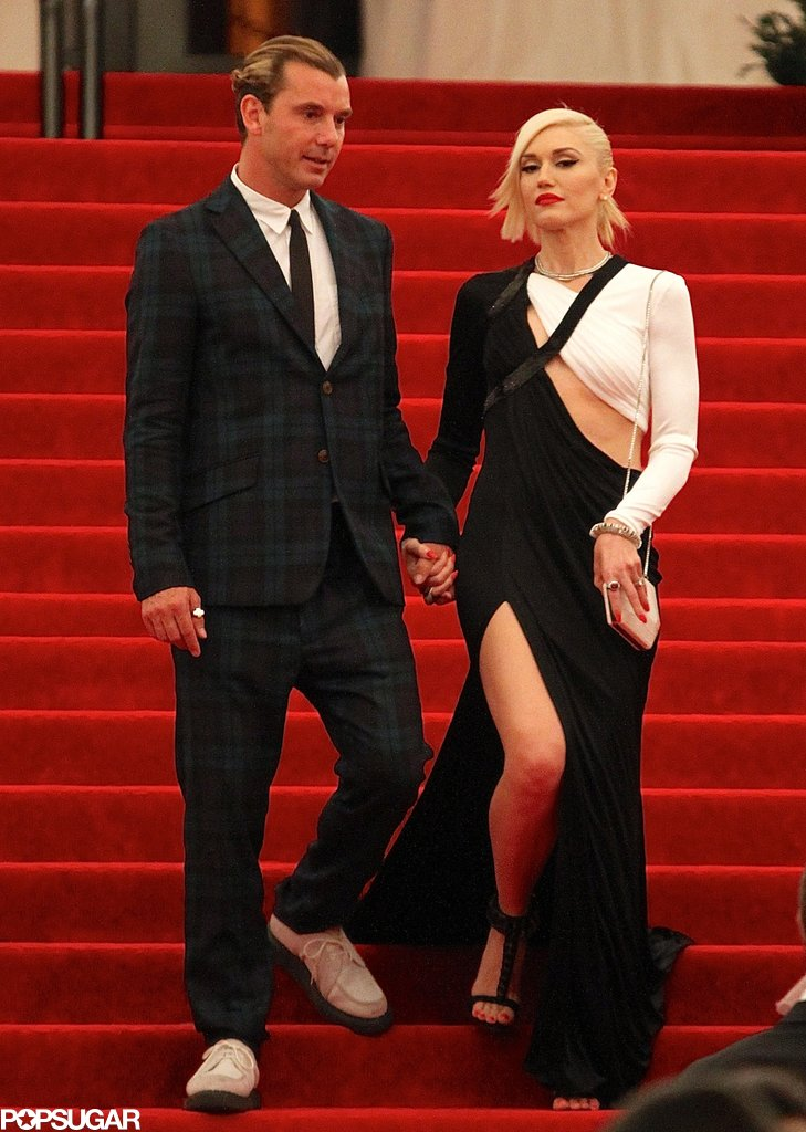 Gwen Stefani and Gavin Rossdale exited the Met Gala together.