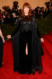 Florence Welch donned a Givenchy Couture by Riccardo Tisci gown from 2012.