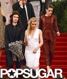 Kristen Stewart, Sienna Miller, and Tom Sturridge left the Met Gala together.