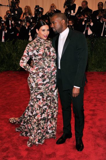 Kanye West brought Kim Kardashian as his date to the May 2013 Met Gala in NYC.