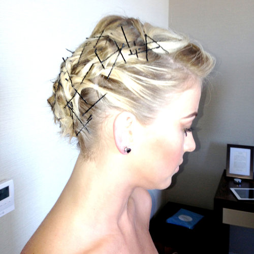 How to Get Julianne Hough's Bobby-Pin Hair at Met Gala