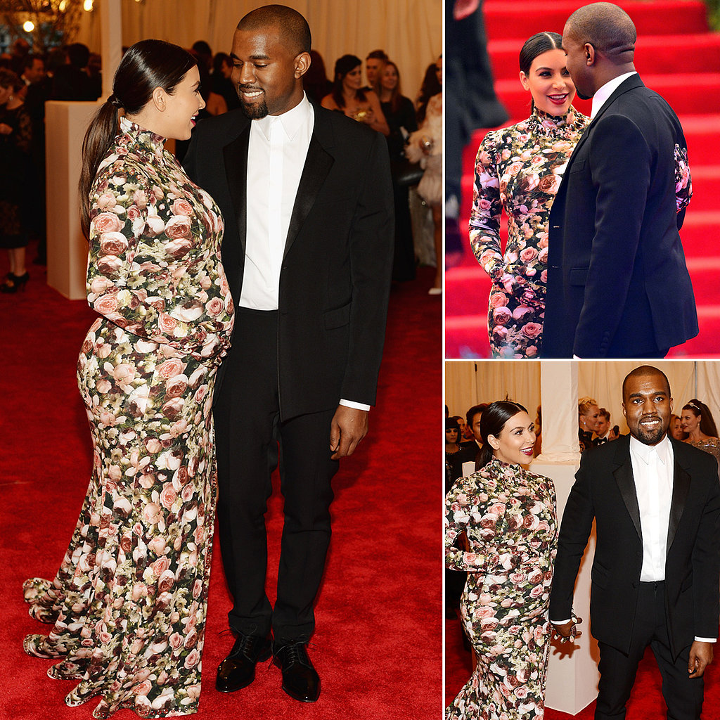 "Kanye's Affectionate Met Gala With ""Awesome"" Kim"