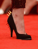 Kristen Stewart added intrigue to her Stella McCartney look with spiked pumps.