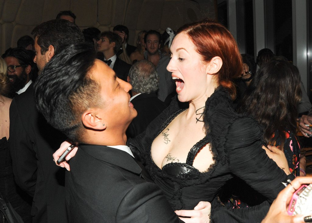 Prabal Gurung and Taylor Tomasi Hill. Source: Neil Rasmus/BFAnyc.com