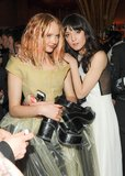 Lily Cole and Irina Lazareanu. Source: Neil Rasmus/BFAnyc.com