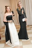 Kylie Minogue and Cara Delevingne entered the Met Gala dinner on Monday. Source: Billy Farrell/BFANYC.com