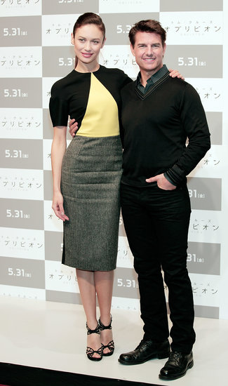 Tom Cruise and Olga Skip the Met Gala For a Japanese Journey